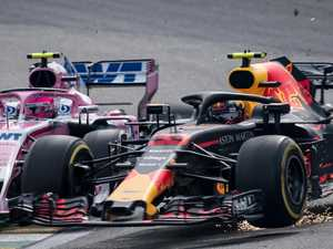 Max's 'violent' attack on F1 rival