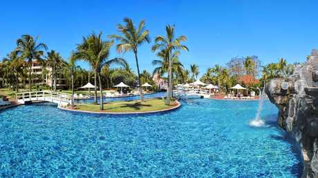 The lagoon at Capricorn Resort was once the largest pool in the southern hemisphere — a major attraction at the luxury tourist hot spot.