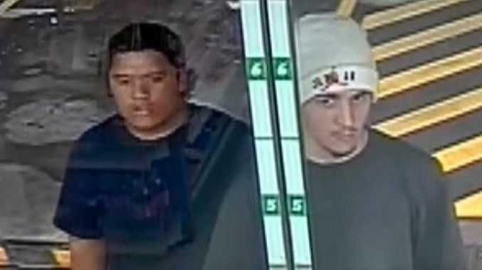 Two men wanted after elderly couple held up at home
