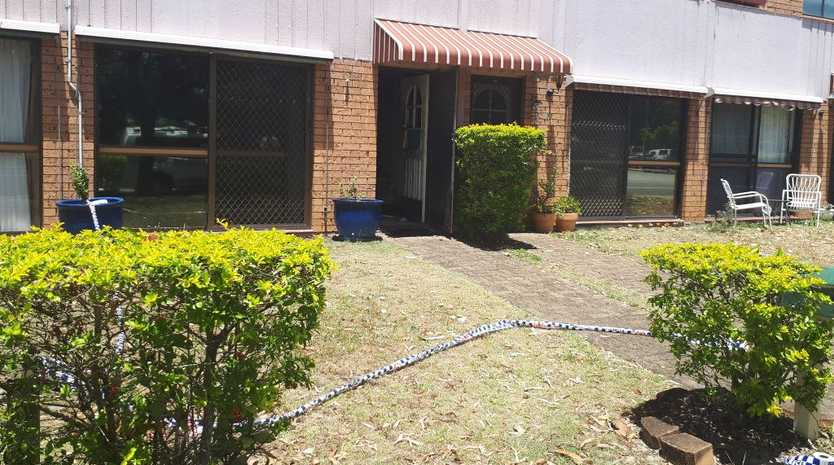 The unit at Tweed Heads where a 64-year-old man allegedly murdered a woman on November 12, 2018.
