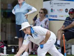 Imelda Brumpton of West Toowoomba Bowls Club during