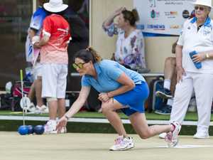 Letitia Weir of West Toowoomba Bowls Club during the