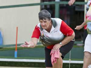 Lyn Mott of North Toowoomba Bowls Club during the