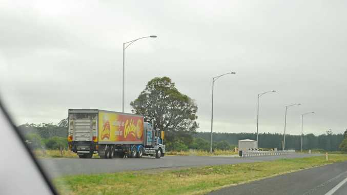 This rest area in Victoria near Ballarat had plenty of room for trucks but drivers reckon there should be many more around the country.