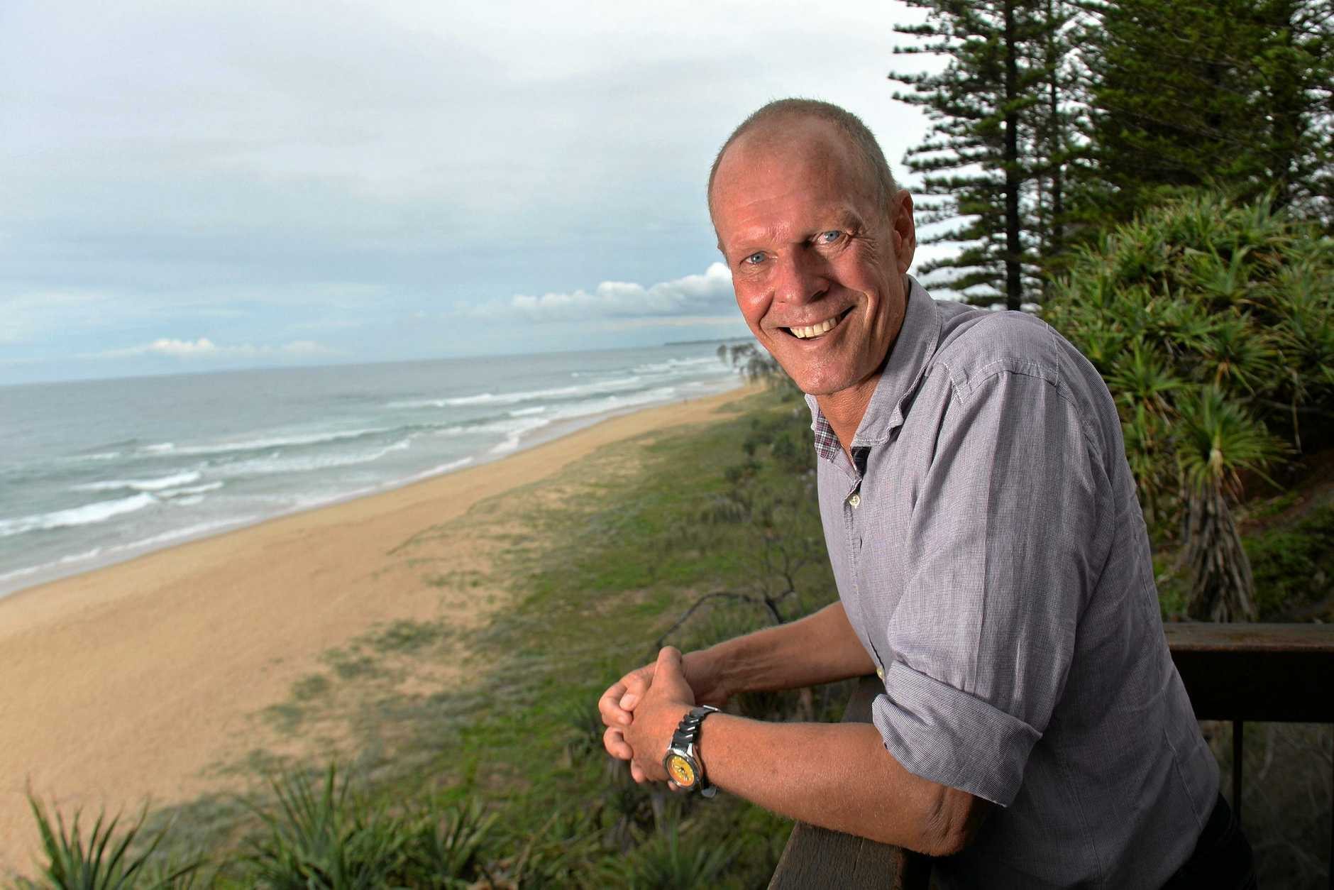 Gordon Barratt is the founder of a new program for at-risk kids on the Sunshine Coast.