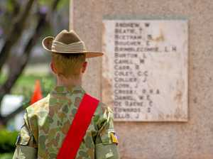 Silence falls as region marks Remembrance Day