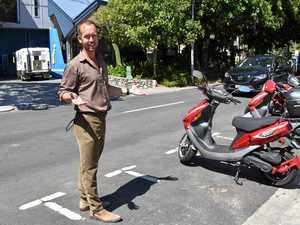 Scoot to it, stop parking problem