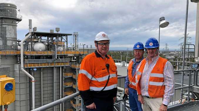 Members of LNP conduct regional energy tour