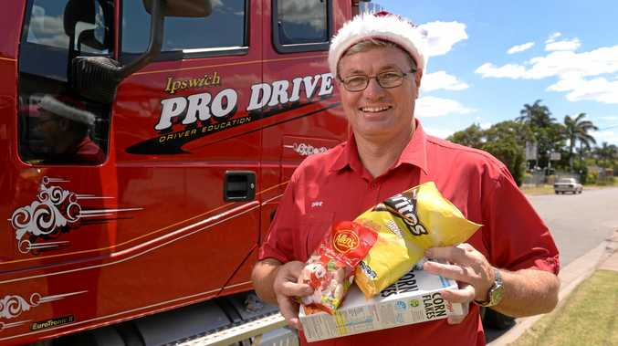 HELPING OUT: David Cullen has adopted a family as part of  The Queensland Times ' Adopt a Family Appeal fundraiser.