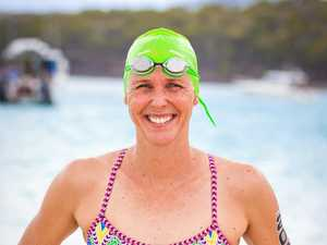 'Madame Butterfly' drops in for Hamilton Island Triathlon