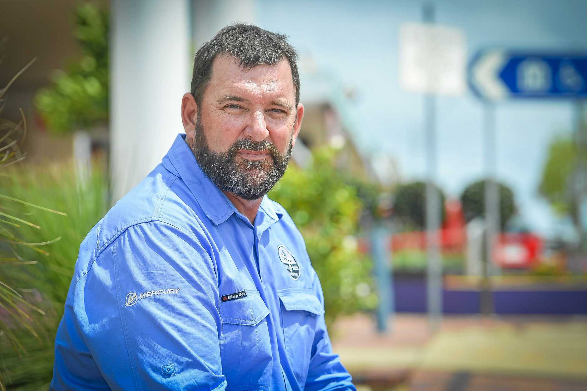 Patrick Laws will be contesting the 2018 Gladstone Regional Council by-election.