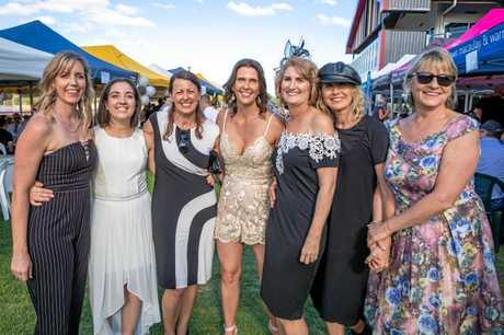 Races - Rachael Pelling, Maddi and Tirane Bath, Natalie Bostock, Alleena Bath, Kerry-Anne Bowyer, Kath Price.