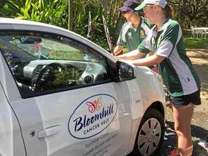 Many hands make light work of car wash to aid Bloomhill
