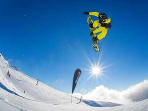 Making waves on world's best snowboarding slopes