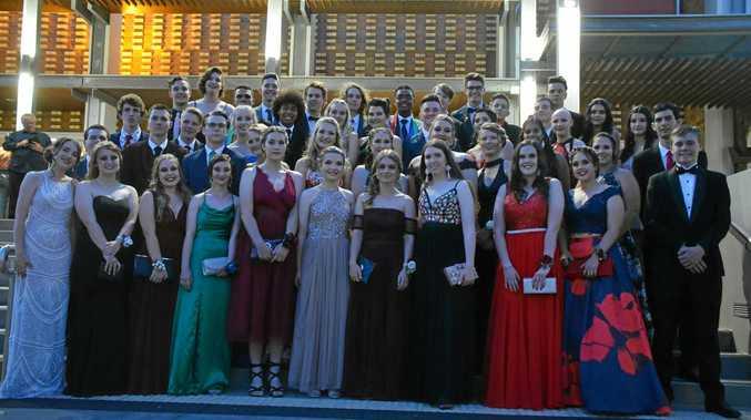 SENIORS: The 2018 graduating class at the Kingaroy Saint Mary's Formal.
