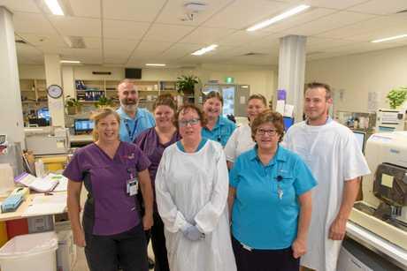 THOROUGH: The team at NSW Health Pathology at Grafton Base Hospital.