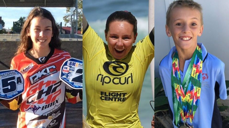 Voting is down to the wire for the 2018 Grafton Shoppingworld People's Choice Award between BMX rider Tahlia Marsh, surfer Carly Shanahan and all-round sportsman Harry Oxenbridge.