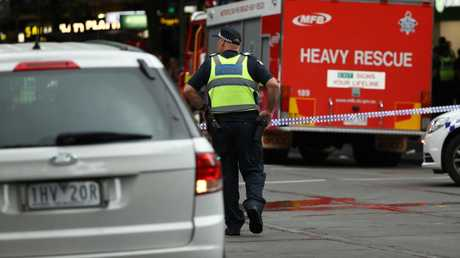 Academic Greg Barton said the style of attacks like that seen in Melbourne on Friday are worryingly hard to predict. Picture: Getty Images