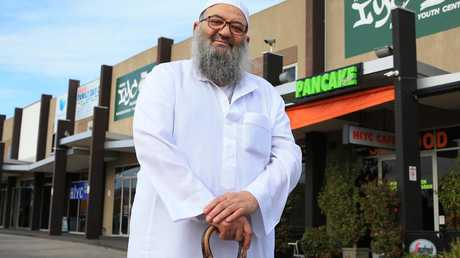 . Sheik Mohammed Omran, pictured at the Hime Islamic Youth Centre. Pic: Aaron Francis/The Australian