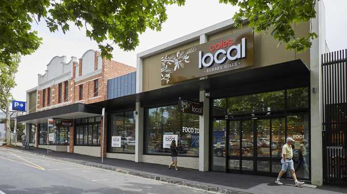 The new Coles Local store in Melbourne's Surrey Hills.