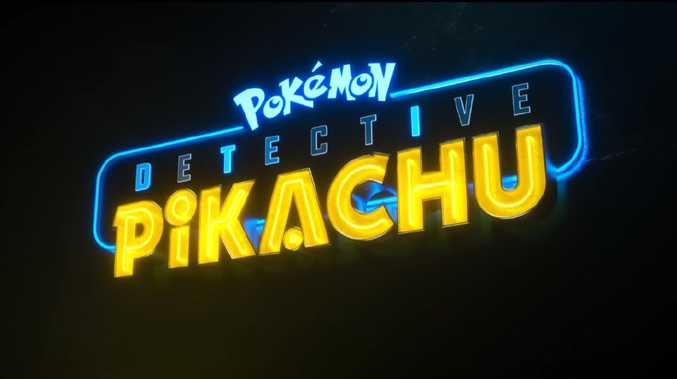 The Pokemon Detective Pikachu movie trailer has been released, tantalising audiences. Picture: Pokemon Detective Pikachu