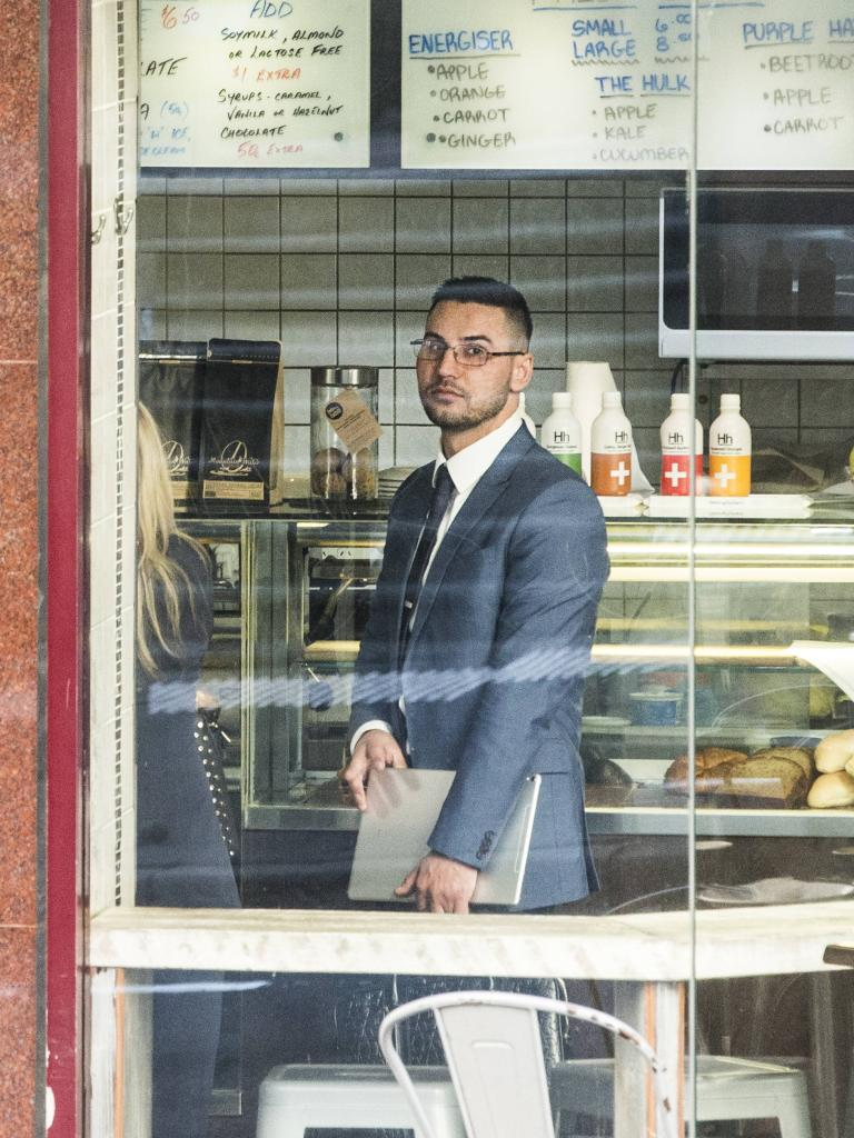 Mehajer before his sentencing. Picture: Jenny Evans