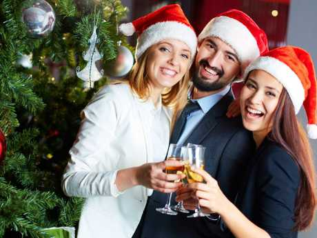 Keep it clean at the work Christmas party. Picture: iStock