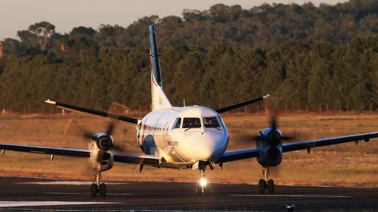 Regional airports in Queensland are at risk of closing if a huge black hole in funding isn't addressed. Picture: Toby Zerna