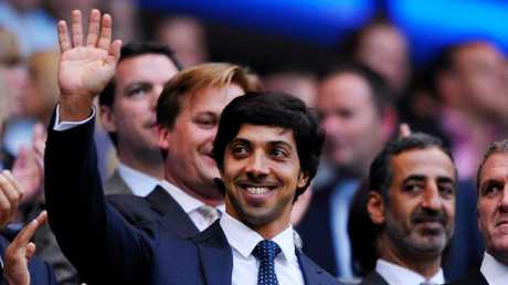 It's claimed Sheikh Mansour provided most of the club's sponsorship money