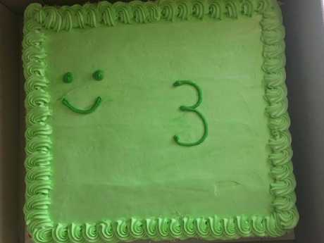 The $50 cake created by Woolworths.