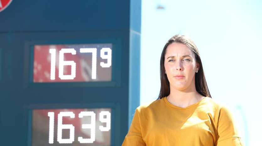 Petrol prices soared to shocking new highs last month but have since fallen sharply, giving a reprieve to frustrated motorists. Picture: Tait Schmaal