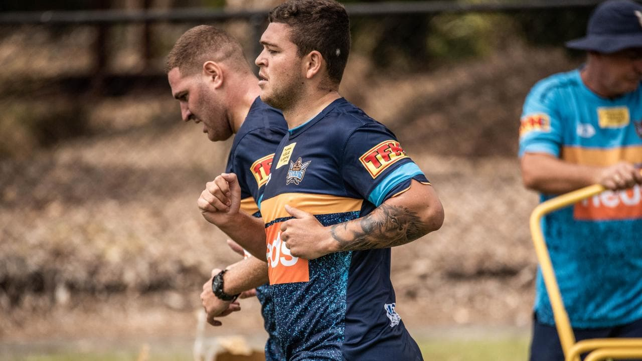 The time has come for Ash Taylor to deliver. (Gold Coast Titans)