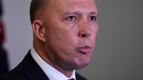 Home Affairs Minister Peter Dutton. Pic: AAP