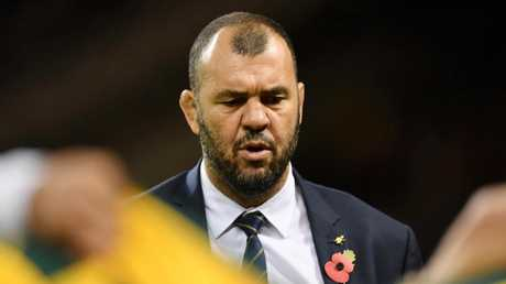 Michael Cheika is still searching for answers as the Wallabies slump continues. Picture: Getty