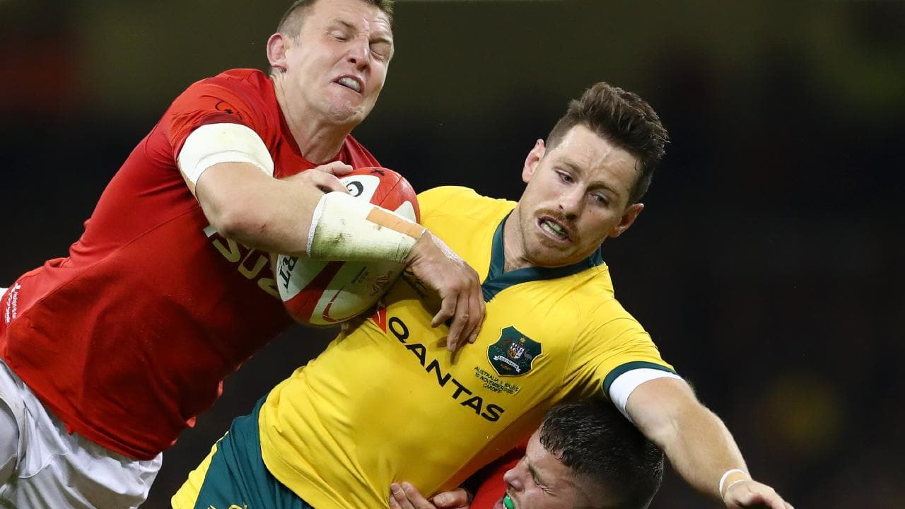 Paying the price... Bernard Foley is facing the axe as the Wallabies woes continue. Picture: Getty