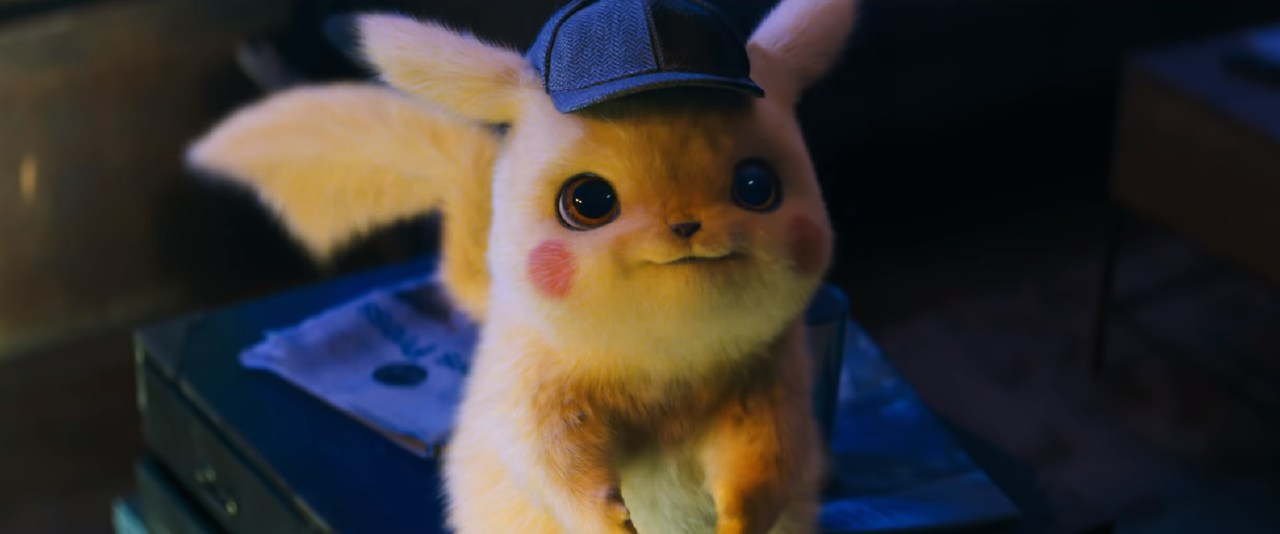 Pikachu is hyper-realistic in the new Pokemon family movie. Picture: Pokemon Detective Pikachu