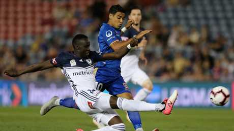 Deng's form in the A-League has earned him a Socceroos call-up.