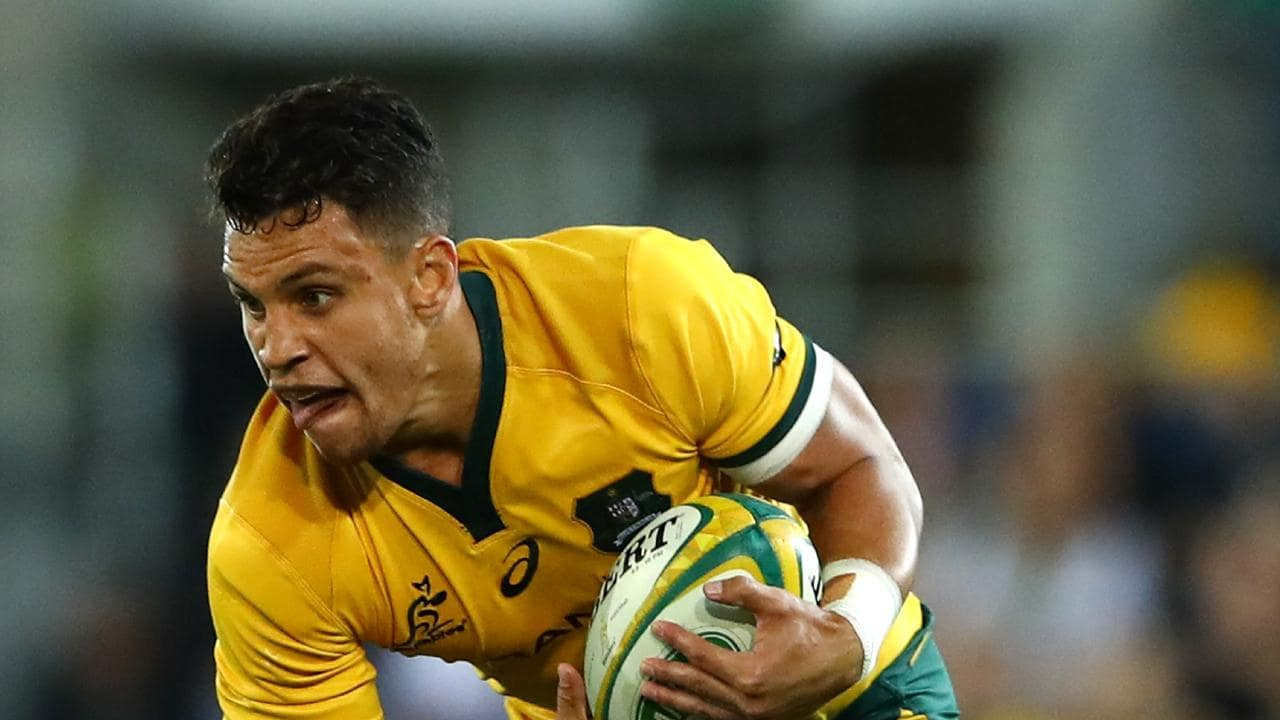 Matt Toomua will start for the Wallabies in a bid to jump-start Australia's kicking game. Picture: Getty