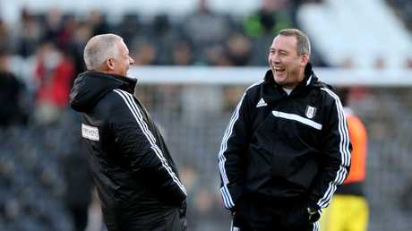 Hans Segers and Rene Meulensteen worked together at Fulham and are now reunited with the Socceroos