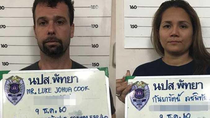 Australian Hells Angels member Luke Joshua Cook and his Thai wife Kanyarat Wechapitak have been given the death penalty.