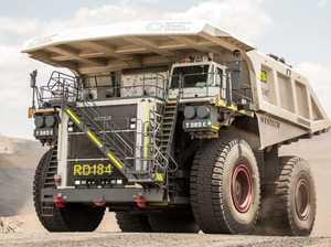 This is the world's second largest mining truck