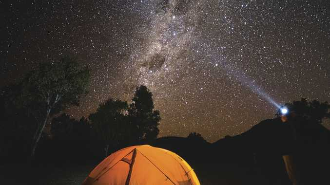 Camp under the magificent skies in the Warrumbungles