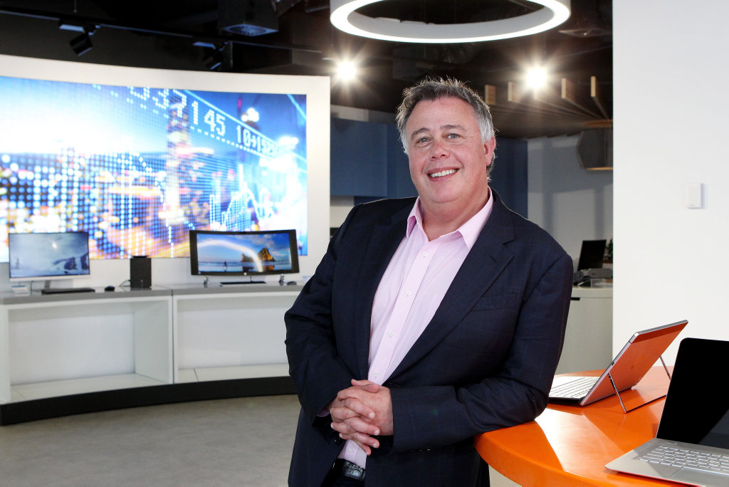 HOSED DOWN: HP inc. Global CEO Dion Weisler says he was on the Coast for personal reasons recently, not company business.