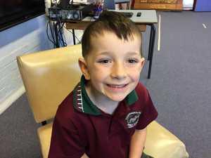 Benjamin Howland, 5, Chatsworth Public School