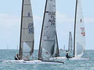 "National ""A"" Class Catamaran Titles at Hervey Bay"