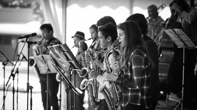 BAND: The Northern Rivers Youth Jazz Orchestra was created in 2010 to provide an outlet for young talented local musicians.
