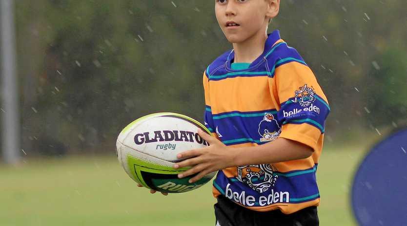 Bundy rugby juniors such as Kieran Smith will now play under the Rugby Bundaberg umbrella.