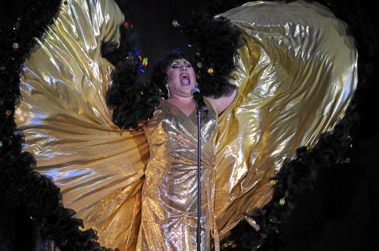 MAIN ACT: Sydney singer and drag queen Trevor Ashley wowed audiences with his  Trash and Trevor  show last year.