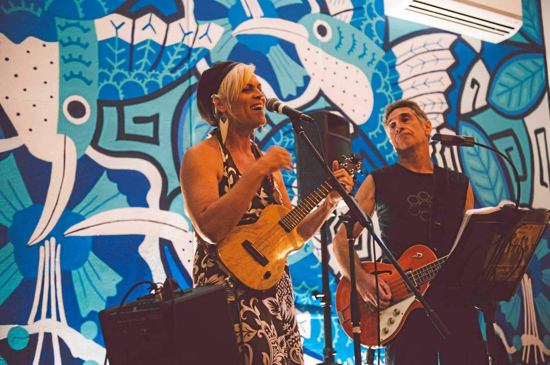 Touring duo Uke Nomad will bring their unique music style to the Kucom Theatre this Sunday