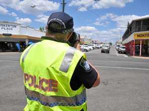 Zero tolerance in main street speed blitz